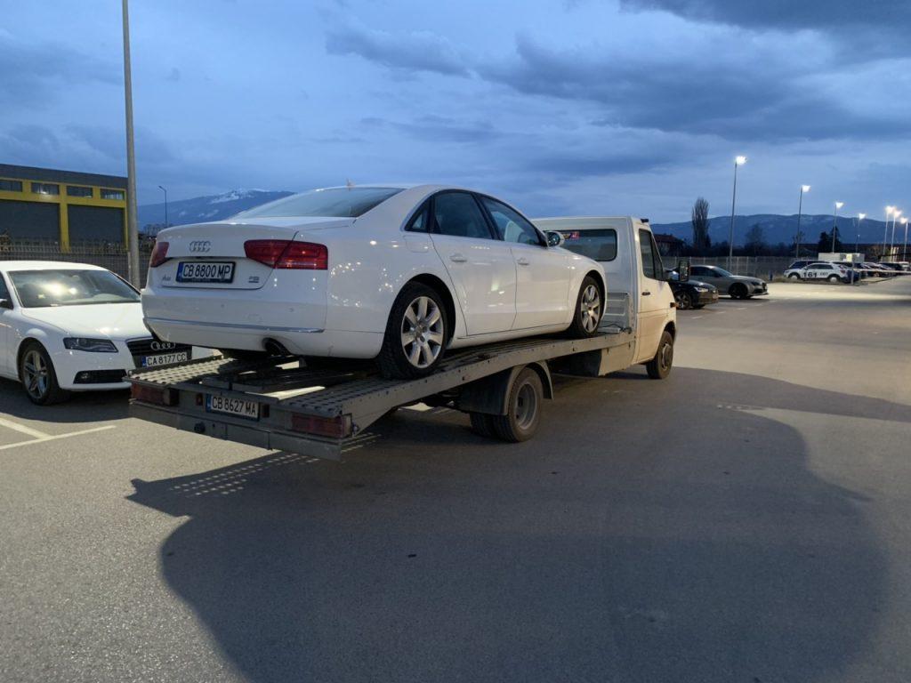 Репатриране на автомобил