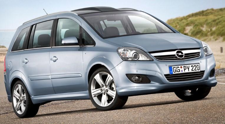 Opel Zafira автомобил под наем от Тони Авто